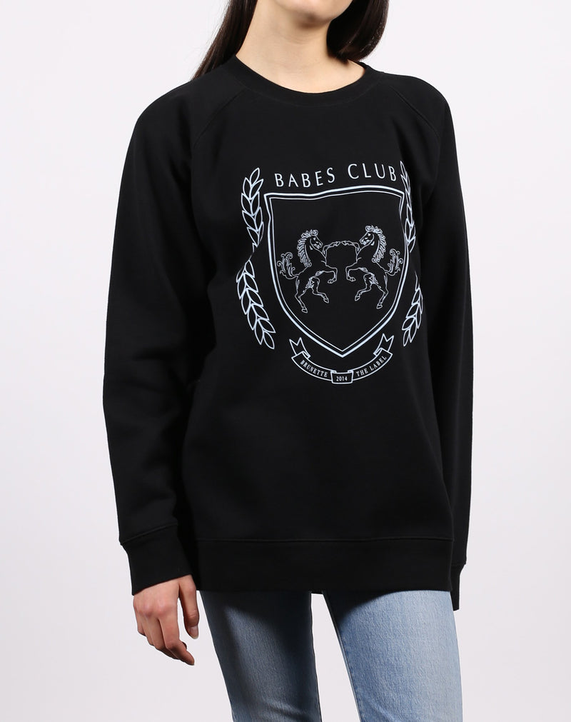 "The ""VARSITY CREST"" Big Sister Crew Neck Sweatshirt 