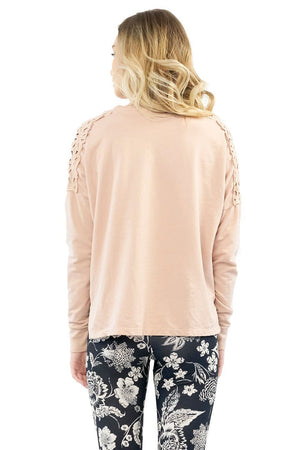 Wildest Dream Pullover | Rose