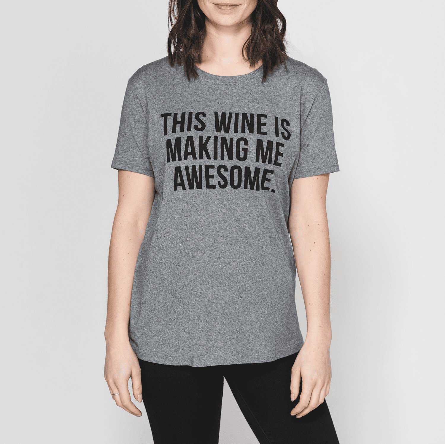 """THIS WINE IS MAKING ME AWESOME"" Tee 