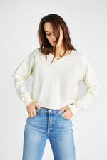 Yara Sweatshirt | Cream