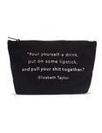 Pour Yourself a Drink Pouch | Black