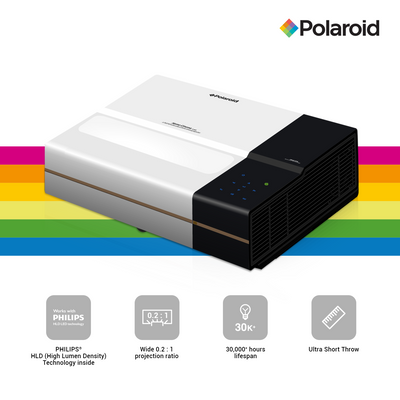 Polaroid Full HD Ultra Short Throw Projector U-400