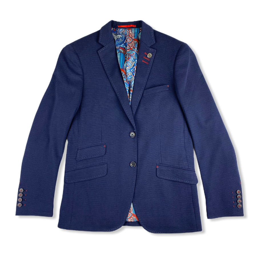 Stretch Blazer - Classic Navy