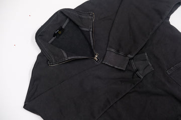 Essential Quarter Zip - Vintage Black