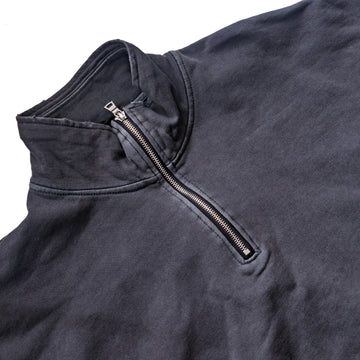 Essential Quarter Zip - Charcoal