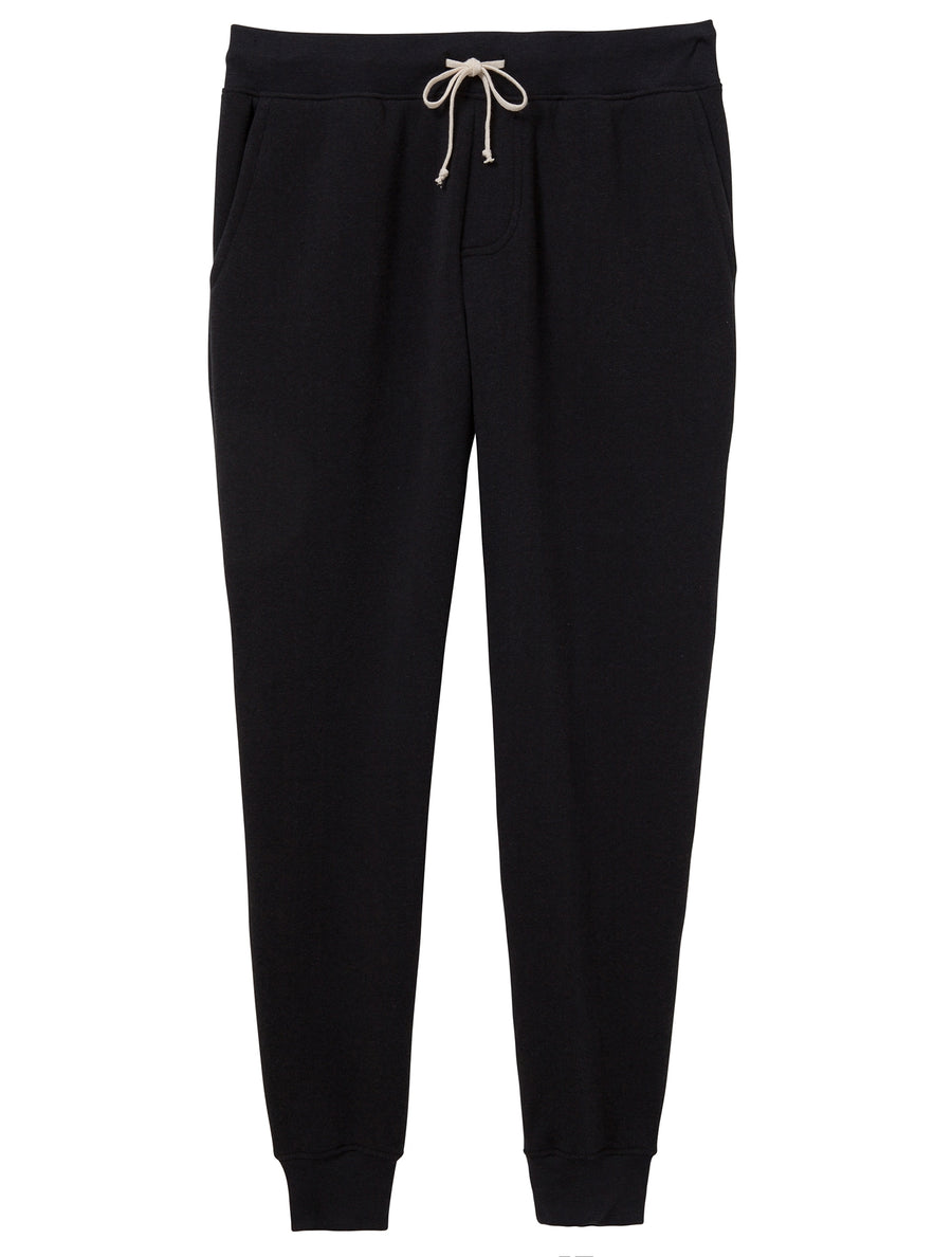 Dodgeball Eco-Fleece Pants - True Black