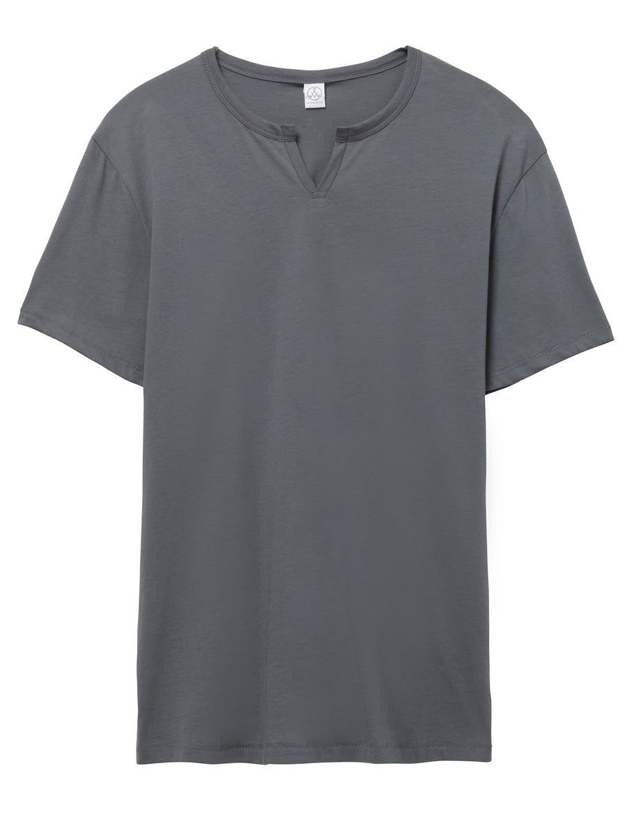 Moroccan Organic Cotton T-Shirt - Grey