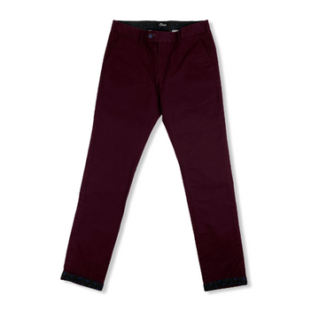 ORAN Premium Stretch Chino - Burgundy