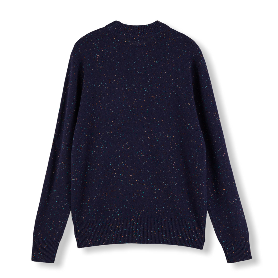 Wool-Blend Crewneck Pullover