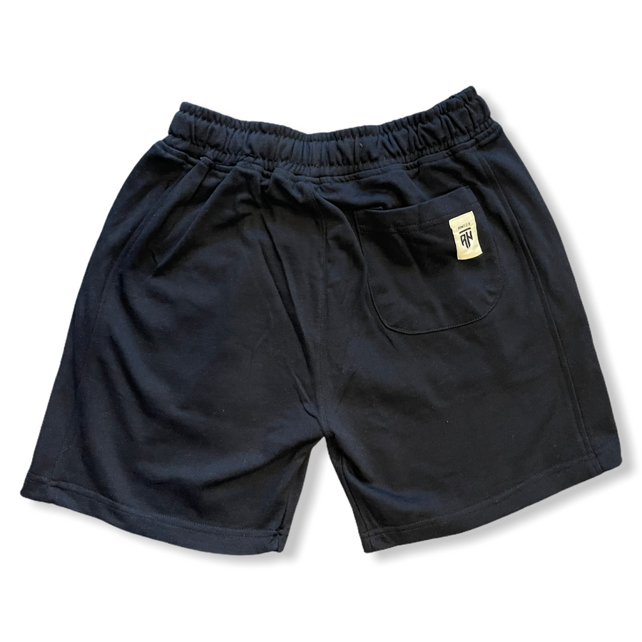 WEEKEND COTTON SHORTS- BLACK