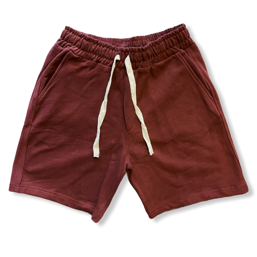 WEEKEND COTTON SHORTS- RED