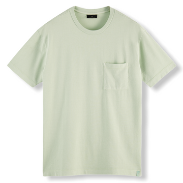RELAXED FIT ORGANIC T-SHIRT - SEAFOAM