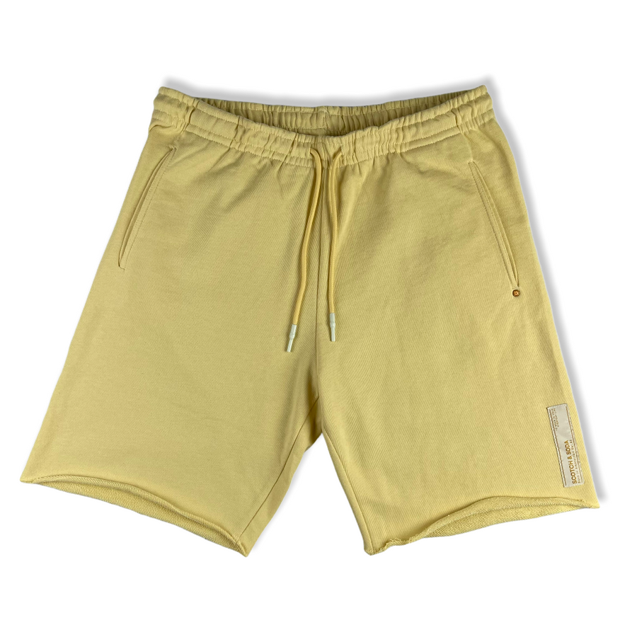 Organic Cotton Shorts - Yellow