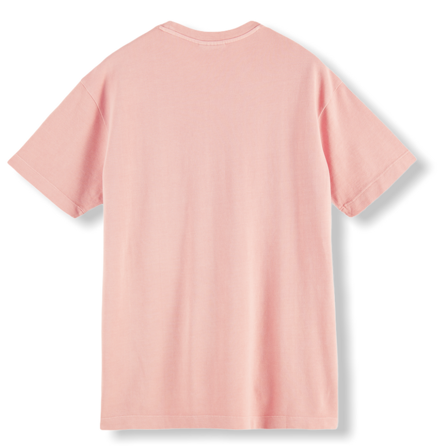 RELAXED FIT ORGANIC T-SHIRT - PINK