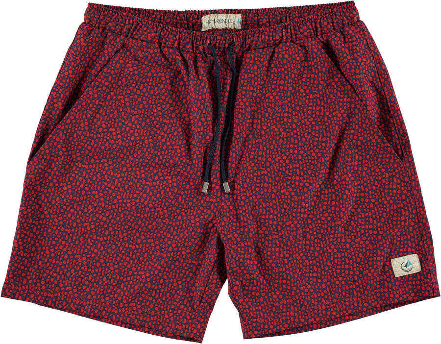 Revolutionary Swim Trunks- Red