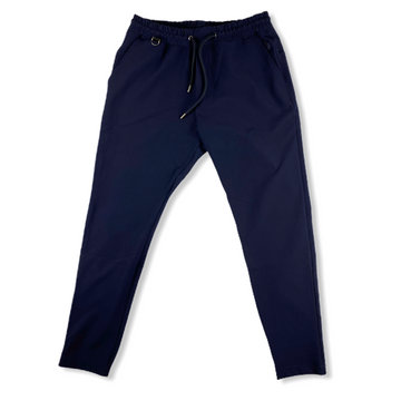 Drawcord Track Pant - Navy