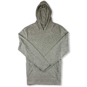Jersey Pull Over Hoodie