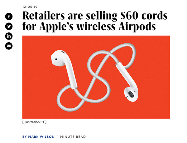 Tapper AirPods Carrying Strap in Fast Company