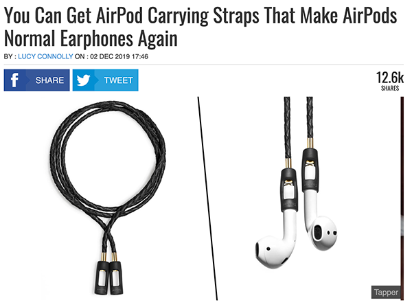Tapper AirPods Carrying Strap in Unilad