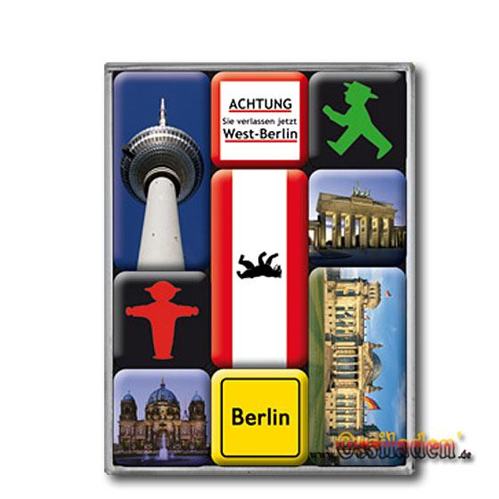 9-teiliges Magnet-Set Berlin