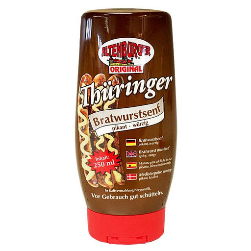 Altenburger Bratwurstsenf - 250ml Spenderflasche