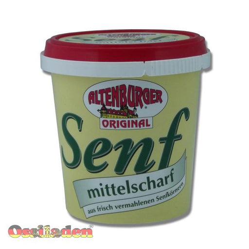 Altenburger Senf 200ml Becher mittelscharf