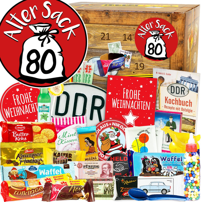 Alter Sack 80 - DDR Adventskalender