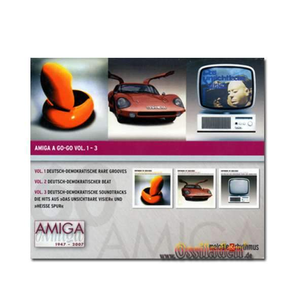 CD Amiga - A Go-Go Vol.. 1-3