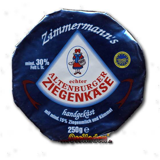 echter Altenburger Ziegenkäse (Zimmermann)