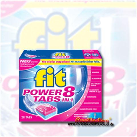 Fit Power Tabs 10 in 1 mit Glasschutzfaktor OZ30, 22er