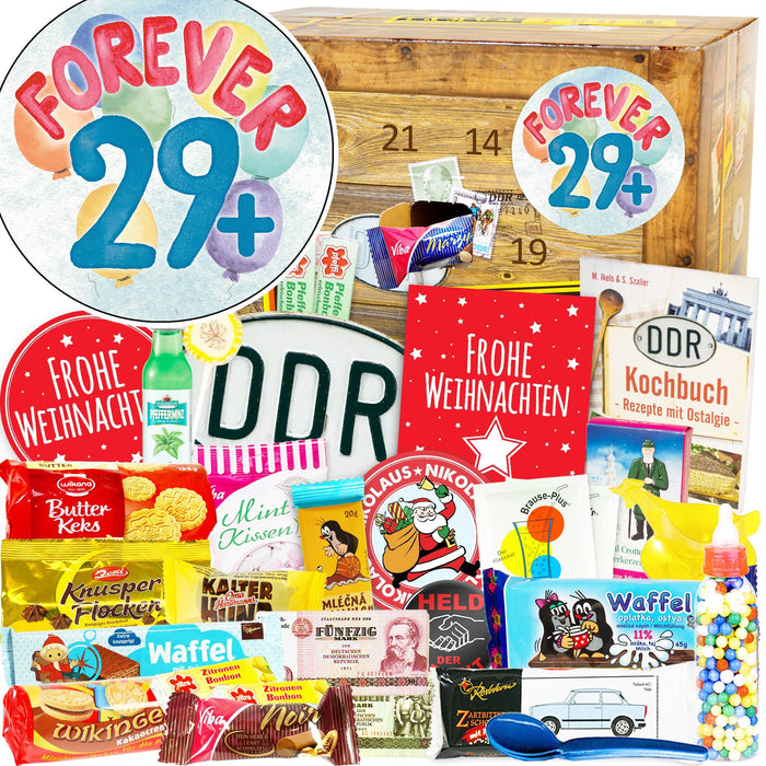 Forever 29+ - DDR Adventskalender