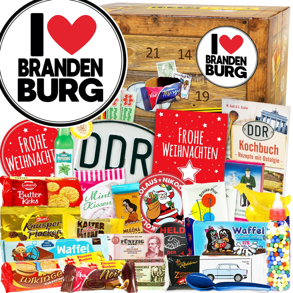 I Love Brandenburg - DDR Adventskalender