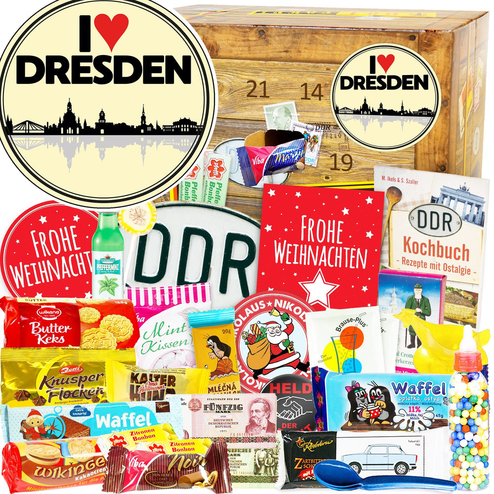 I Love Dresden - DDR Adventskalender