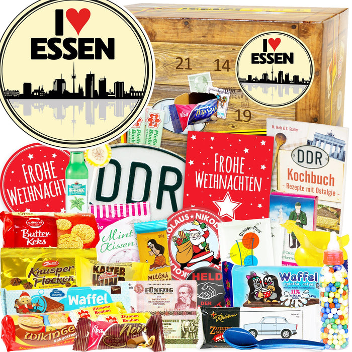 I Love Essen - DDR Adventskalender