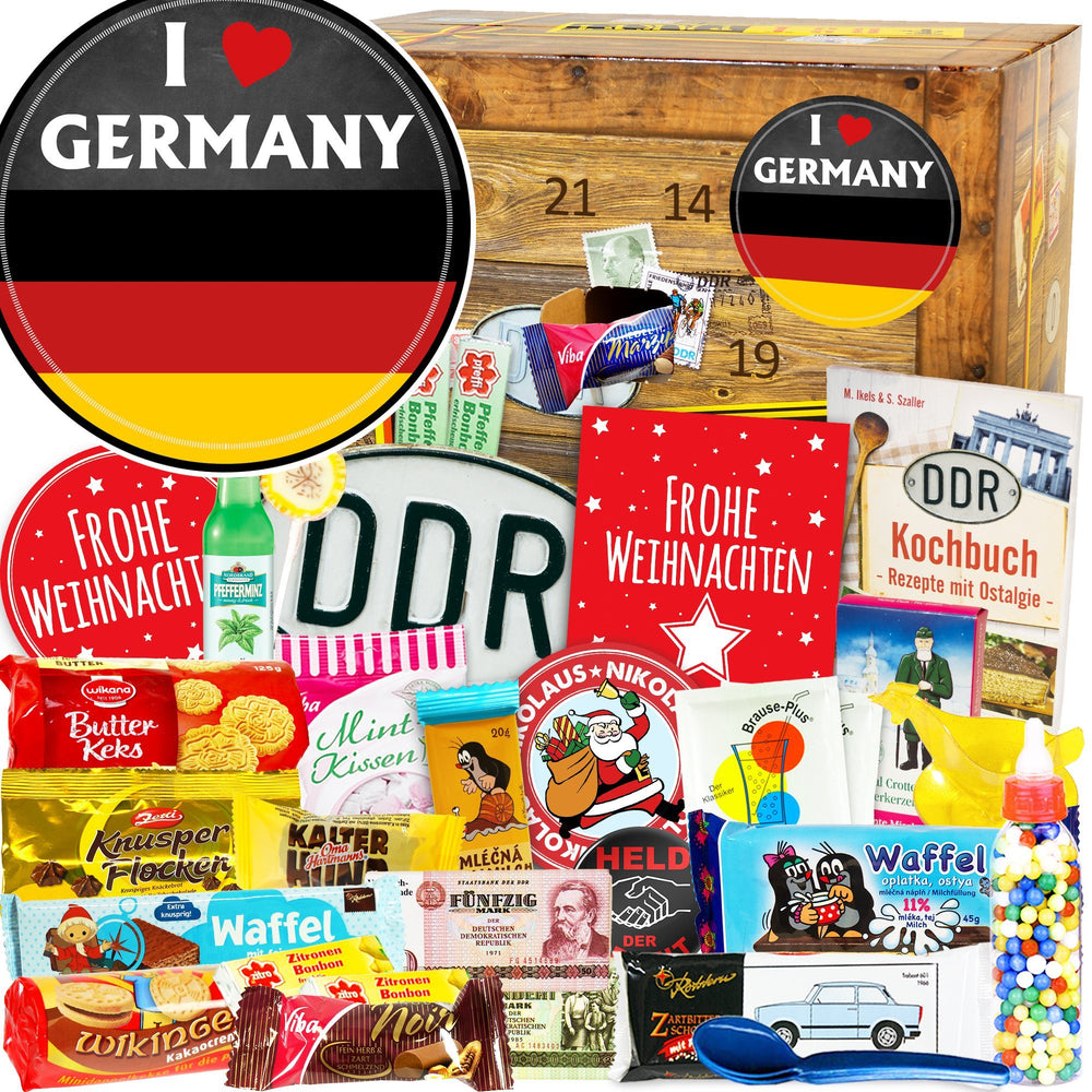 I Love Germany - DDR Adventskalender