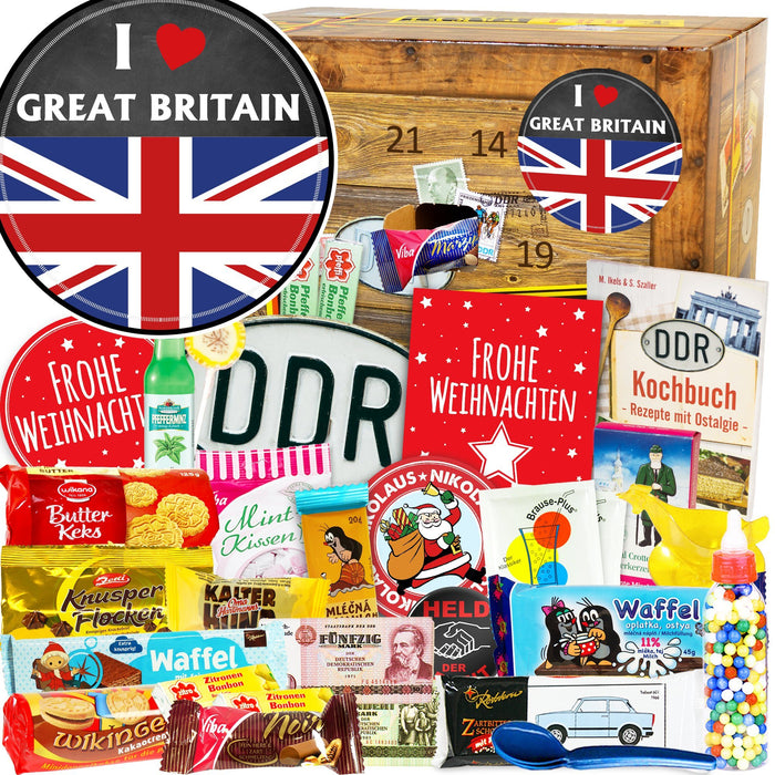 I Love Great Britain - DDR Adventskalender