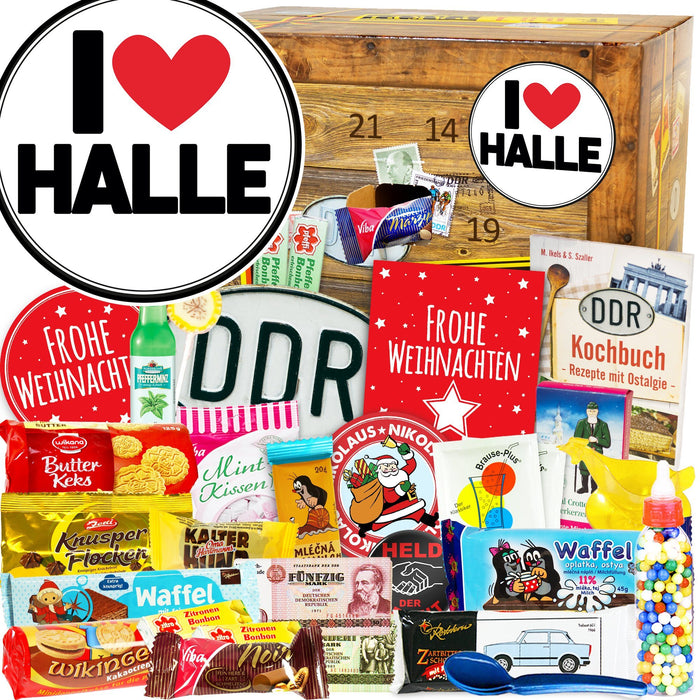 I Love Halle - DDR Adventskalender