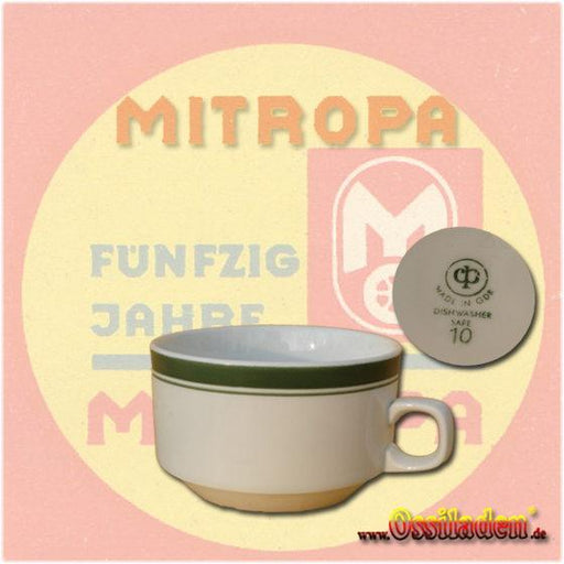 Original Suppentasse im Mitropa-Design
