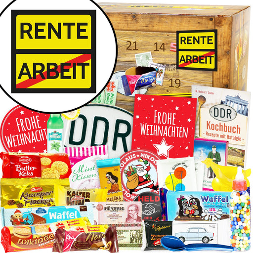 Rente - DDR Adventskalender