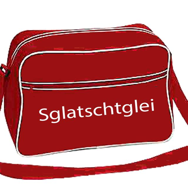 Retro Shoulder Bag Rot - Sglatschtglei