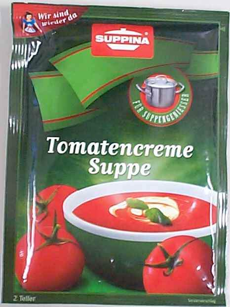 Suppina Tomatencremesuppe