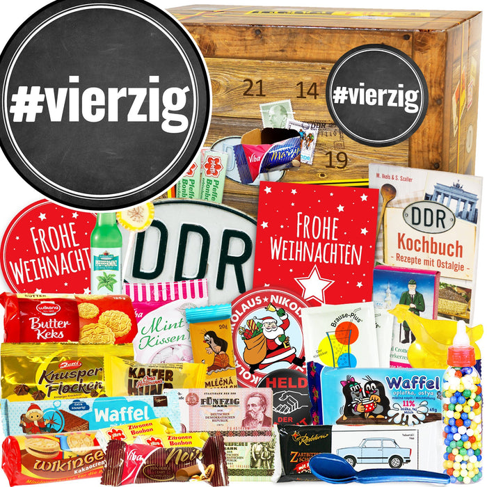 #vierzig - DDR Adventskalender