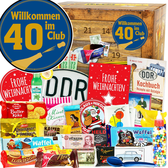 Wilkommen im Club 40 - DDR Adventskalender