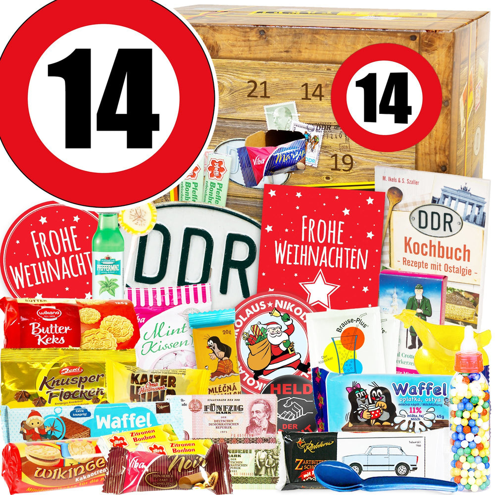 Zahl 14 - DDR Adventskalender