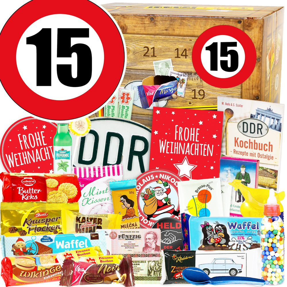 Zahl 15 - DDR Adventskalender