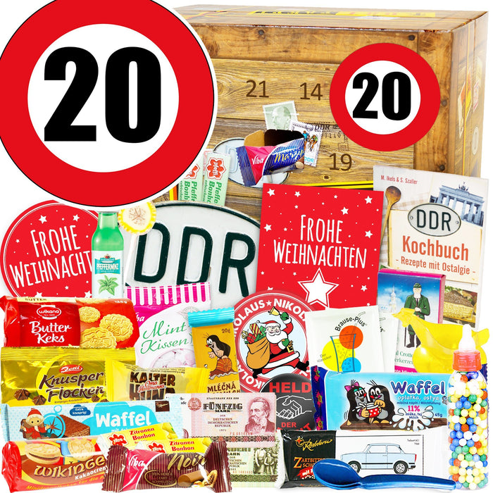 Zahl 20 - DDR Adventskalender