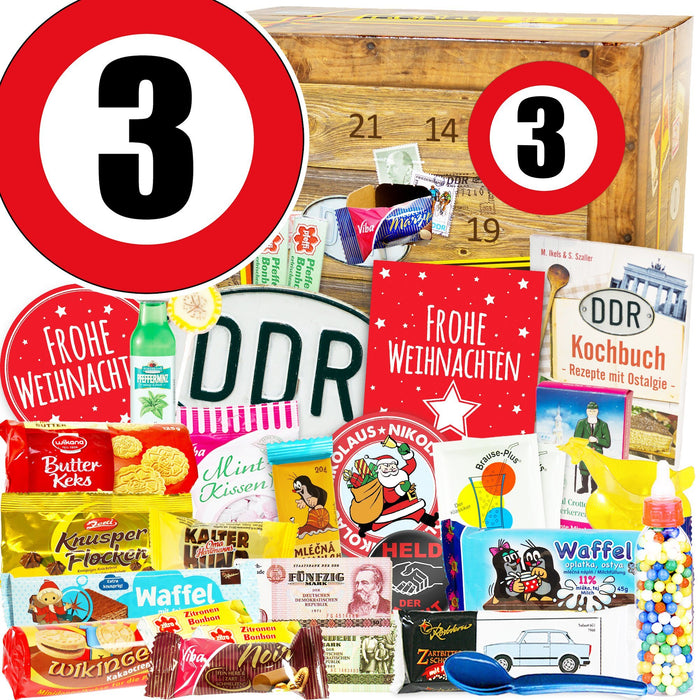 Zahl 3 - DDR Adventskalender