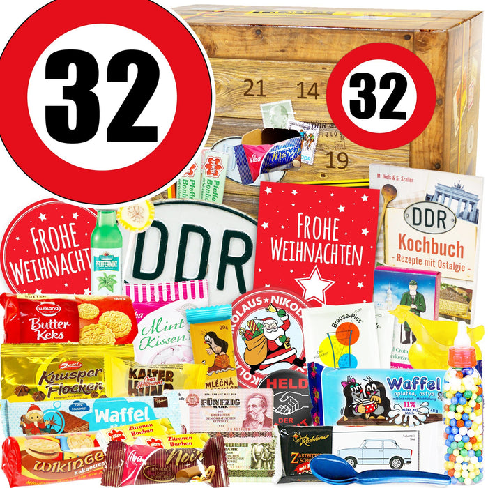 Zahl 32 - DDR Adventskalender