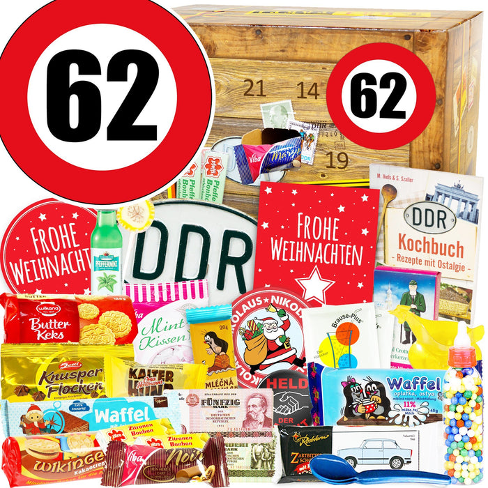 Zahl 62 - DDR Adventskalender