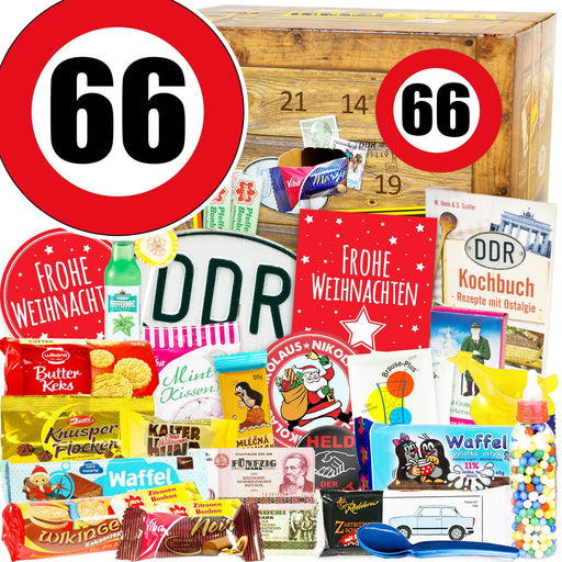 Zahl 66 - DDR Adventskalender